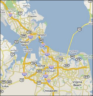Hampton Roads Cities Jason E Dodd